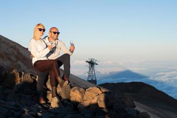 Mt Teide, Sterne-Erlebnis in Teneriffa mit Sekt und Abendessen