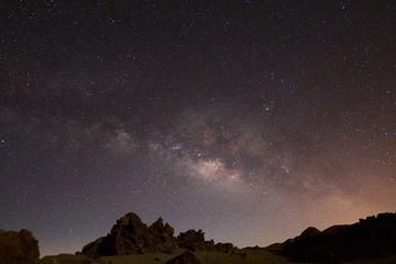 Stjärnskådning på Teides topp på ...
