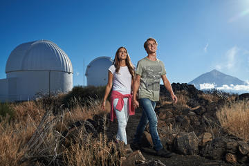 Teide Observatory Entrance