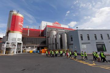 Visita a la fábrica de cerveza Dorada...