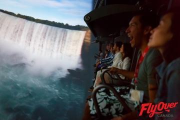 FlyOver Canada simulation en vol