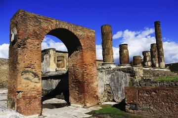 Private Führung: Pompeji Bahnfahrt von Sorrent mit Familientour-Option