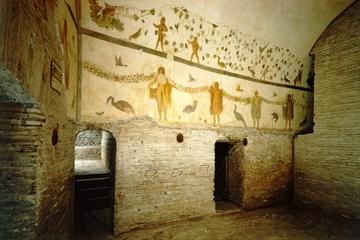 Alte Häuser am Celio Hill– Rundgang in Rom
