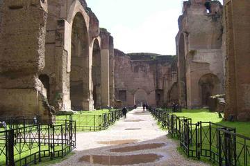 Thermes de Caracalla - visite de la Rome antique