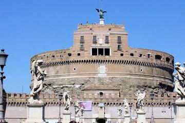 Visite à pied du Castel Sant'Angelo et du Ponte Sant'Angelo à Rome