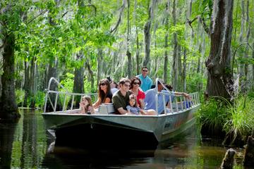 Tour durch die Sumpflandschaft von Honey Island