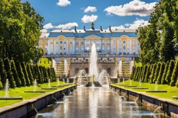 Zarenresidenzen in St Petersburg: Führung durch den Katharinenpalast...
