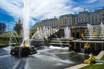 Zarenresidenzen in St Petersburg...