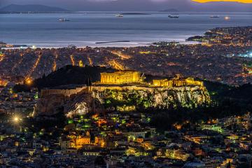 Private Athens Night Out in Monastiraki, Keramikos and Gazi Neighborhoods