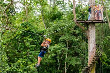 Angkor Park Ziplining and Ta Prohm Tour