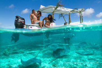 Small-Group Bora Bora Lagoon Snorkel Cruise with Barbecue Island Lunch