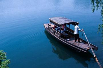 All Inclusive Hangzhou Luxury Day Tour with Private Rowing Boat Cruise