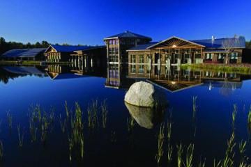 Ingresso al Wild Center presso il lago Tupper