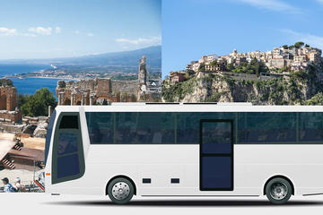 MESSINA-TAORMINA- CASTELMOLA LOW COST RETURN SHARED TRANSFER