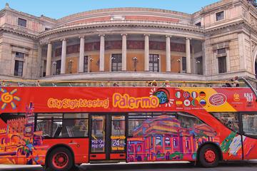 Palermo-utflykt: Hoppa på/hoppa av-sightseeingbusstur