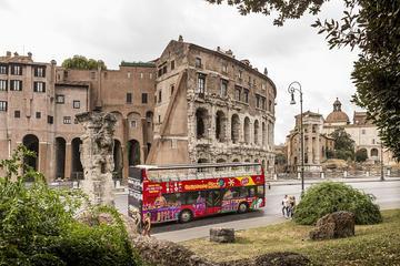 Rom hoppa på hoppa av-rundtur kollektivtrafikpass