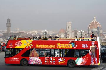 Tour de Florence en bus à arrêts multiples