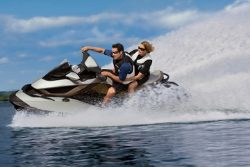 Sortie en jet ski à English Bay au...