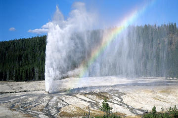 Yellowstone National Park Flight and Ground Tour