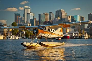 Voo de hidroavião em Seattle no Lake Union