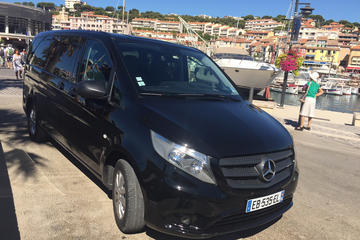 Private Arrival Transfer: Marseille Airport to Marseille or Aix-en-Provence