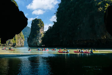 Canoeing Through Phuket's Secret...