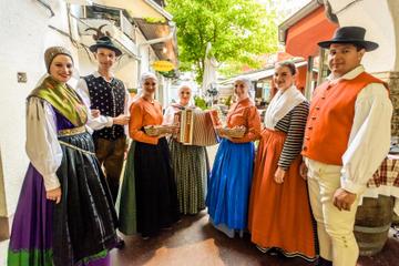 Cena e spettacolo tradizionale sloveno
