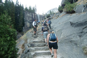 Yosemite Mist Trail and Vernal Fall Hike