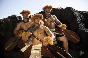 Treffen zum königlichen Luau auf Big Island