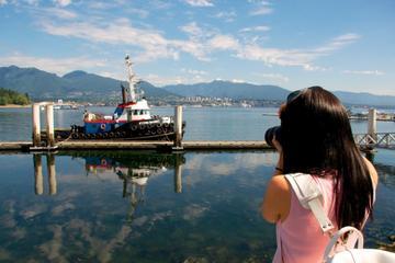 Excursão fotográfica na zona portuária de Canada Lace e Vancouver
