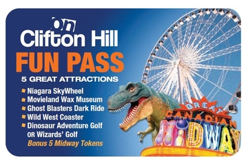 Pass « Fun » à Clifton Hill