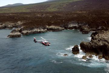 ハレアカラ国立公園とハナの熱帯雨林上空をめぐるマウイのヘリコプターツアー