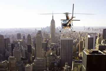NYC Private Helicopter Sightseeing Experience with Champagne Toast