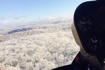 Recorrido en helicóptero por el Valle del Hudson en invierno