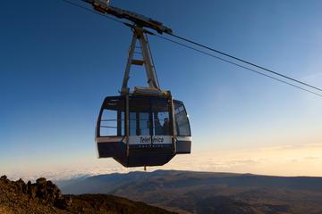 Ticket voor retourtje met de kabelbaan naar Pico del Teide op Tenerife