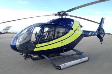Private Helicopter Transfer: Mykonos to Santorini