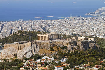 Private Tour: Athens Helicopter Flight