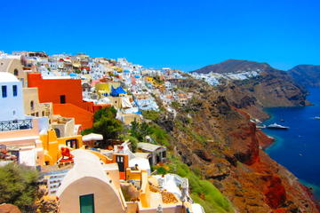 Private Tour: Santorini Day Trip from Mykonos by H