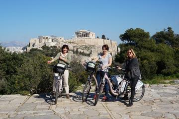 Excursão de bicicleta elétrica por Atenas