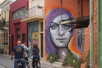Visite en vélo à la découverte de l'art de rue d'Athènes