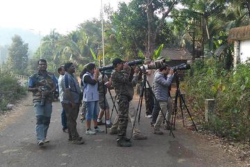 Birdwatching al Bondla Wildlife