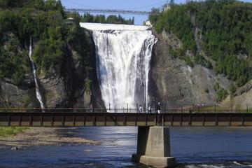 Fahrradtour zu den Montmorency-Wasserfällen in Quebec
