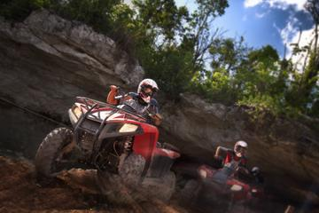 Cancun Zipline, ATV and Cenote Swim Adventure