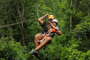 Zipline Canopy Tour from Playa del Carmen