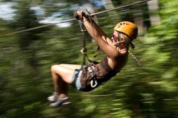 Ziplining in Puerto Vallarta...