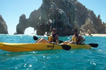 Excursión al Arco de Los Cabos y Playa del Amor en kayak con fondo de...