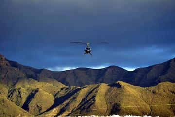 Passeio de helicóptero em Tenerife...