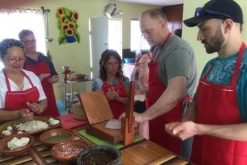 Cours de cuisine à Puerto Valarta...