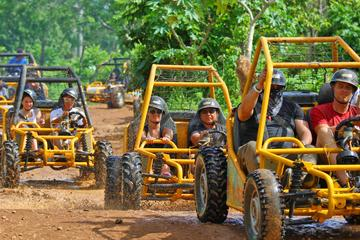 4-Hour 4WD Buggy from La Romana with Hotel Pickup and Drop Off