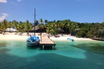 Cruzeiro de Catamarã para Ilha Catalina e Rio Chavon saindo de Punta...